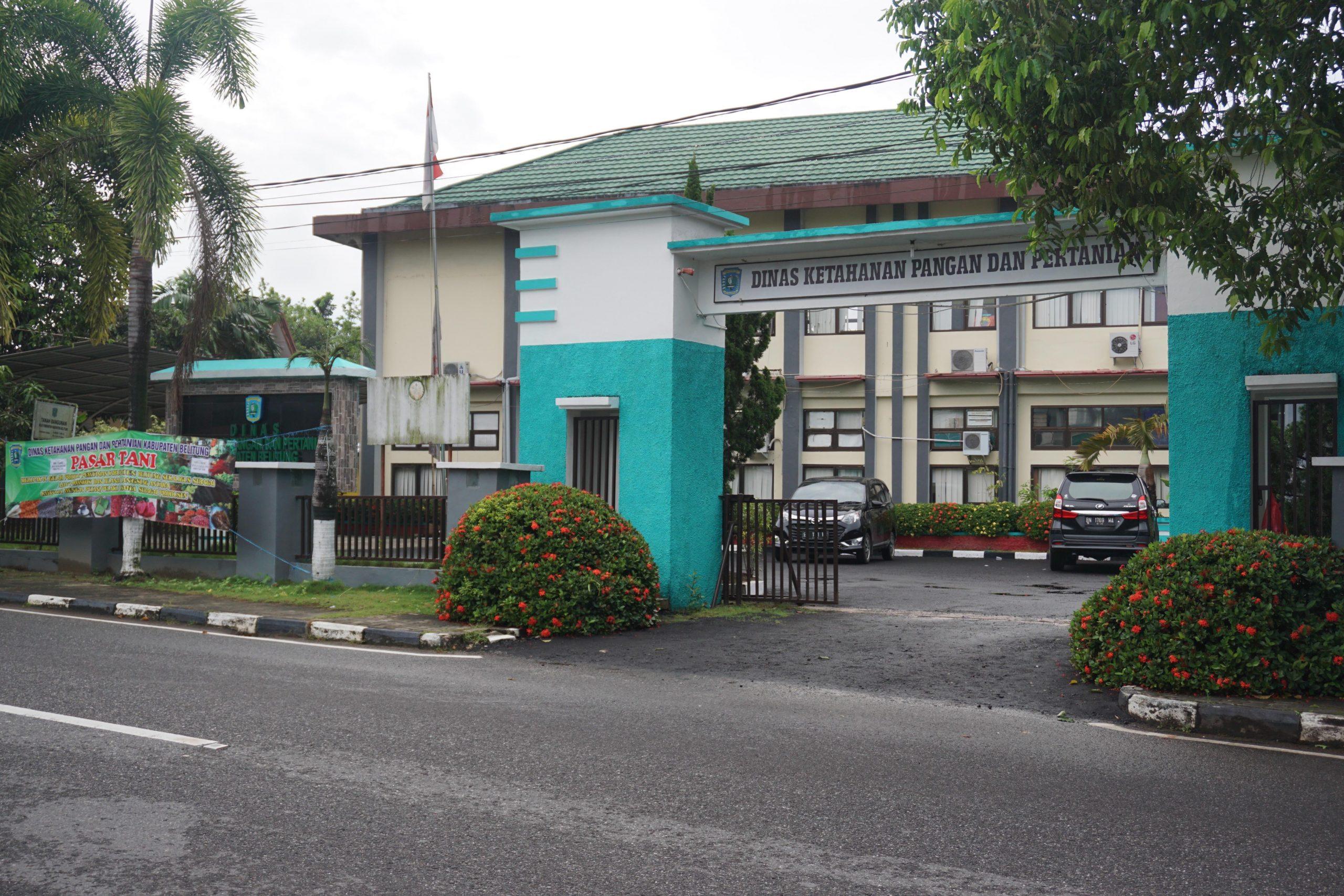 Kantor Dinas Ketahanan Pangan dan Pertanian Kabupaten Belitung
