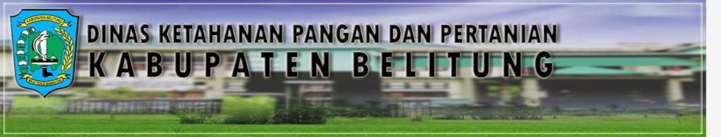 Dinas Ketahanan Pangan dan Pertanian Kabupaten Belitung